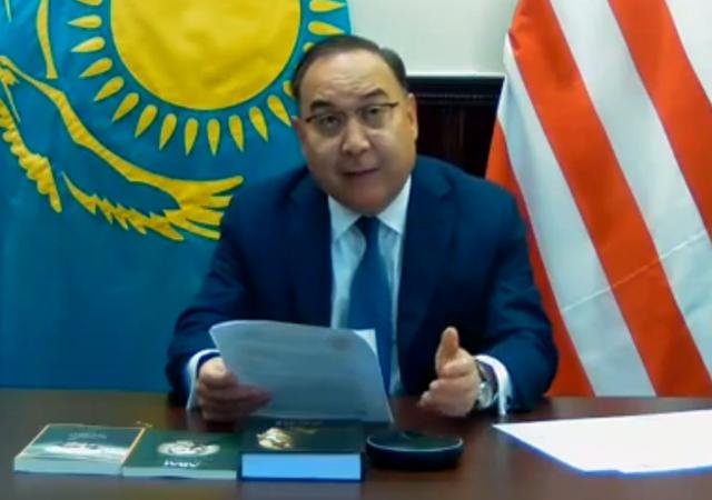 Ambassador Erzhan Kazykhanov